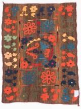 Tæppe, design 'Ozbeki Suzani', ca. 170 x 116 cm