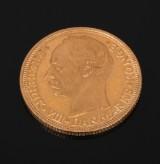 Frederik VIII. Danmark 20 kr. guldmønt 1911