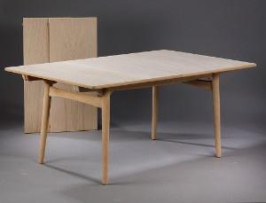 wegner spisebord Hans J. Wegner. Dining table with extension, oak, model AT310  wegner spisebord