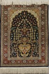Rug, silk Hereke, Turkey, 90 x 65