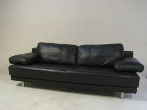 rolf benz 3er sofa modell sob 355 228 echtleder. Black Bedroom Furniture Sets. Home Design Ideas