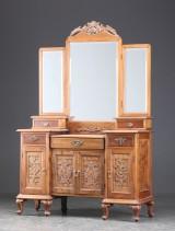 Toiletbord af orientalsk hardwood