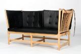 Børge Mogensen. Spoke-Back Sofa, beech, model 1789