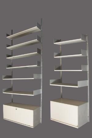 slutpris f r dieter rams regalsystem 606 cremewei. Black Bedroom Furniture Sets. Home Design Ideas