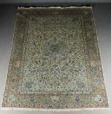 Persian hand-knotted lounge carpet, old Kashan, 405x310 cm