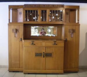 Jugendstil Sideboard Cupboard Oak Around 1900 Lauritz Com