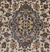 Persisk Keshan tæppe, uld på bomuld, 310 x 203 cm.