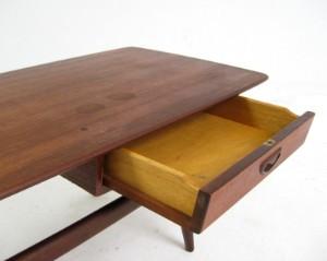 lot 3055401 louis van teeffelen beistelltisch in teak f r walraven bevers. Black Bedroom Furniture Sets. Home Design Ideas