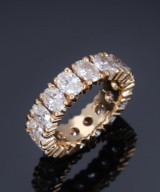 Poul Klarlund. Ring, 18 kt. gold, with 6.40 ct.