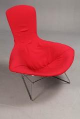 Harry Bertoia. Model Bird Chair, lounge chair