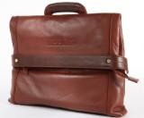 Apples. Taske i rødbrunt skind.