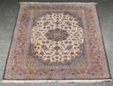 A Persian Isfahan rug, 245x160 cm