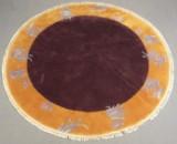 Teppich aus China, Wolle, rund