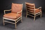 Ole Wanscher. Par hvilestole 'Colonial Chair' OW149 (2)