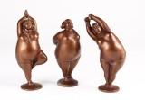 Skulpturer, bronze (3)