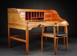 Andreas Hansen. Desk with armchair, Hadsten Træindustri (2)