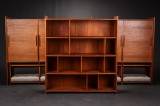 Grete Jalk.  Solid teak shelf system