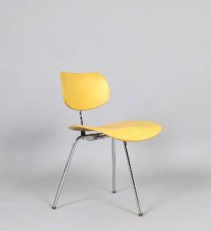 Arch Egon Eiermann Dreibeiniger Stuhl Modell Se 69 Für Wilde