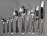 Bernstoff. Samling sølvbestik (78)