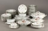 Middags- og kaffeservice, porcelæn (76)