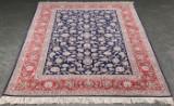 Persian Isfahan rug, 240x160 cm