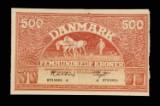 Danmark 500kr. 1945 d  Sieg:127 KV:01 (lille plet)