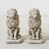 Skulpturer lejon
