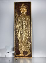 Large relief in form of Buddha, 3.5 m.