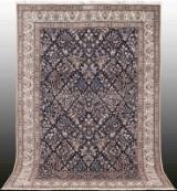 Oriental carpet, figural Nain 6La, signed, 300x202 cm