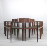 Set of filigree chairs, Italy, 1950s/60s (6)