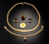 Samling guldsmykker - 69 gram (6)