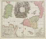 Karta Sicilien 1760