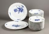 Kgl. Blå Blomst, spisestel, porcelæn (26)