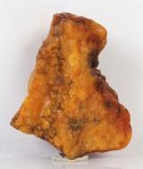 Dansk rav. Upoleret ravklump, 127 g.