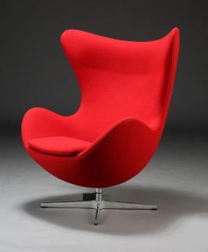 arne jacobsen das ei sessel mit kippfunktion 2010. Black Bedroom Furniture Sets. Home Design Ideas