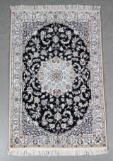 Persisk Nain m/ silke, 150 x 100 cm