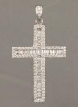 Diamant Kreuz Anhänger ca. 3.00 ct.  Die Auktion ist annulliert1997655