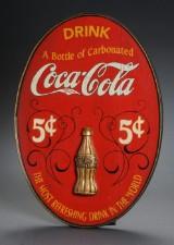 Cola reklameskilt træ