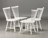 Carl Malmsten. 'Lilla Åland' chairs (4)