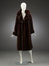 Birger Christensen. Coat, female mahogany mink, size 42/44