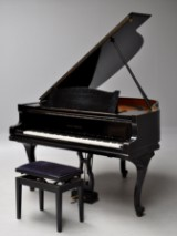August Förster. Piano, 'Baby Grand Piano' model 140. 1950-60s