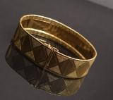 Vintage bracelet, 18 kt. gold
