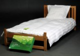 Bamboosleep. To sæt sengetøj samt dobbeltlagen.