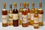 Diverse flasker Sauterne (9)