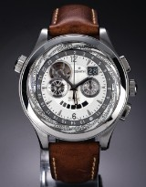 Zenith 'El Primero Class Traveller Multicity'. Men's chronograph in steel, 2010 s