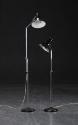 Par standerlamper af metal (2)