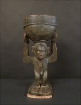 Väktarfigur 'bulul', Igorot-folket, Luzón 1800-tal