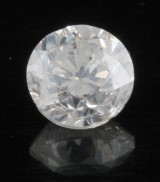 Loose brilliant cut diamond 2.03 ct