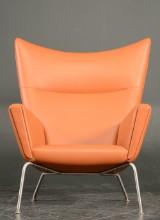 Hans J. Wegner, lounge chair, model CH-445, 'Wing Chair'