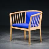 Finn Østergaard- tremmestol bøg/uld